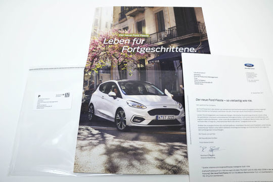 Ford Fiesta Mailing