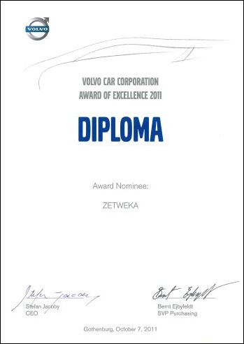 Diploma - Award of Excellence